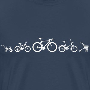 Evolution Cykel Road T-shirts - Herre premium T-shirt