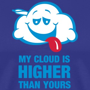 My cloud is higher than yours T-Shirts - Men's Premium T-Shirt