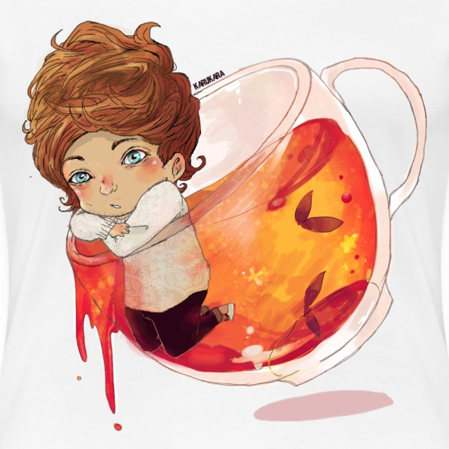 Louis Tea Womens Shirt