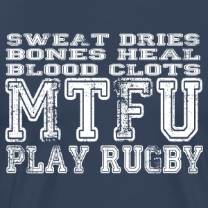 MTFU Play Rugby - Men's Premium T-Shirt
