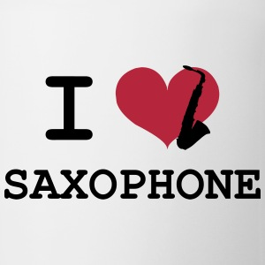 I Love Saxophone Tazze & Accessori - Tazza