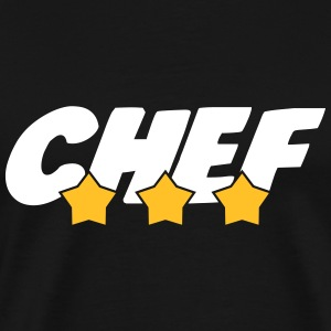 Chef - Cuisine - Patron - Boss - Cooking - Food T-shirts - Premium-T-shirt herr