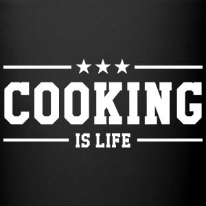 Cooking is life Krus & tilbehør - Ensfarvet krus
