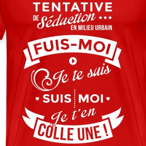 Tentative de séduction - T-shirt Premium Homme