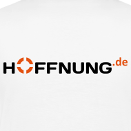 Motiv ~ Hoffnung.de T-Shirt Männer