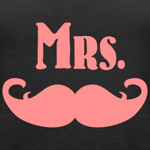 Mrs. Mustache Tops - Frauen Premium Tank Top