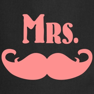 Mrs. Mustache  Aprons - Cooking Apron