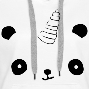 Pandicorn_Eyes Sweat-shirts - Sweat-shirt à capuche Premium pour femmes