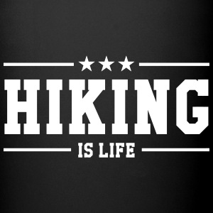Hiking is life Krus & tilbehør - Ensfarvet krus