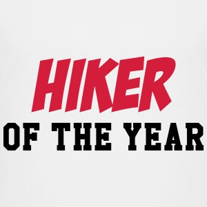 Hiker of the Year ! T-shirts - Teenager premium T-shirt