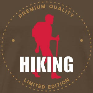 Hiking T-shirts - Mannen Premium T-shirt