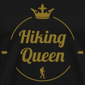 Hiking Queen T-shirts - Mannen Premium T-shirt
