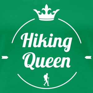 Hiking Queen T-shirts - Vrouwen Premium T-shirt