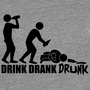 Hangover Evolution Drink Drank Drunk T-Shirts - Frauen Premium T-Shirt