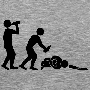 Hangover Evolution T-Shirts - Men's Premium T-Shirt