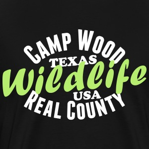 Camp Wood Wildlife T-Shirts - Männer Premium T-Shirt