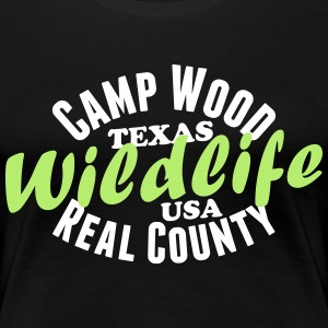 Camp Wood Wildlife T-Shirts - Frauen Premium T-Shirt