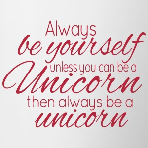 Always be a Unicorn Mug - Contrasting Mug