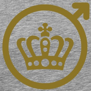 Team unga Crown T-shirts - Premium-T-shirt herr