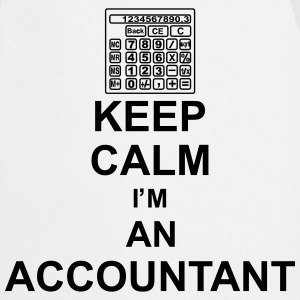 keep_calm_i'm_an_accountant_g1 Grembiuli - Grembiule da cucina