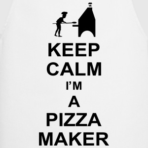 keep_calm_i'm_a_pizza_maker_g1 Forklæder - Forklæde