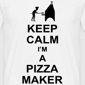 keep_calm_i'm_a_pizza_maker_g1 T-shirts - Herre-T-shirt