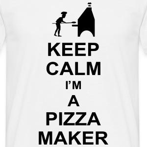 keep_calm_i'm_a_pizza_maker_g1 Koszulki - Koszulka męska