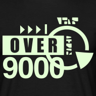 Design ~ [over 9000] phosphorescent