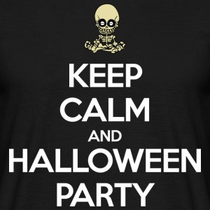 Keep Calm and Halloween Party T-shirts - Mannen T-shirt