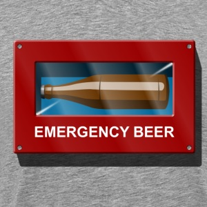 Redning  Beer Box Emergency Beer T-shirts - Herre premium T-shirt