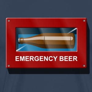 Urgence Beer Box Emergency Beer Tee shirts - T-shirt Premium Homme