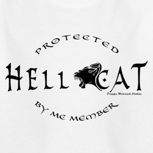 Girl protected by MC (Black) T-Shirts - Kinder T-Shirt