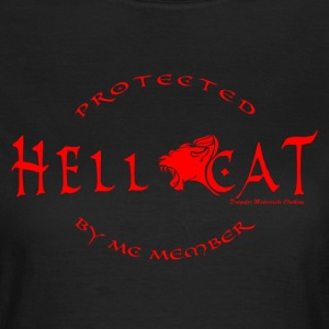 Girl Protected by MC RED T-Shirts - Frauen T-Shirt