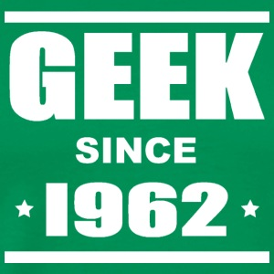 Geek since 1962 Tee shirts - Premium T-skjorte for menn