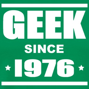 Geek since 1976 Tee shirts - Herre premium T-shirt