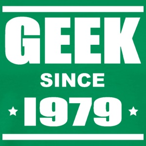 Geek since 1979 Tee shirts - Premium T-skjorte for menn