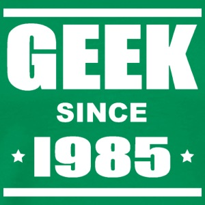 Geek since 1985 Tee shirts - Herre premium T-shirt