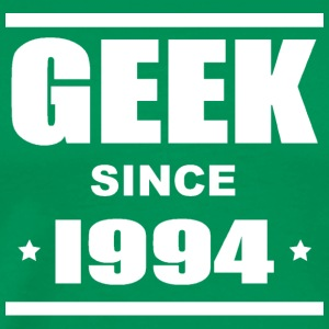 Geek since 1994 Tee shirts - Herre premium T-shirt