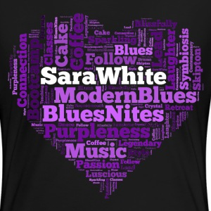 Blues Love - Women's Premium T-Shirt