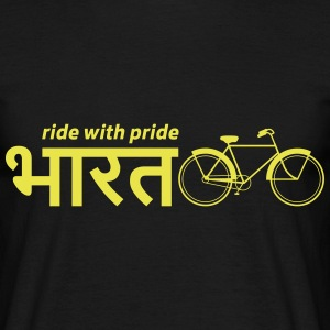 India: Ride with Pride Bike T-Shirts - Men's T-Shirt