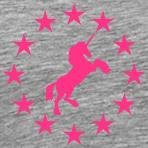 Unicorn star ring circuit T-Shirts - Men's Premium T-Shirt