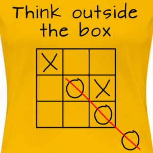 Think outside the box T-Shirts - Frauen Premium T-Shirt