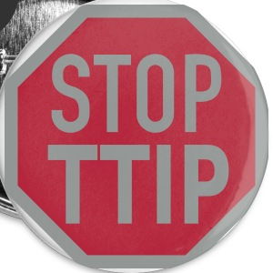 STOP TTIP Buttons - Buttons small 25 mm