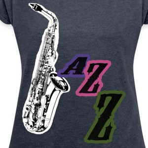 Jazz T-Shirts - Women's T-shirt with rolled up sleeves