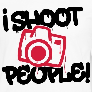 I shoot people - Photography Langarmshirts - Männer Premium Langarmshirt