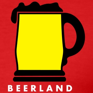 beerland_vec_3 nl T-shirts - slim fit T-shirt