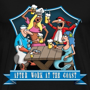 party_at_the_coast_a T-Shirts - Männer Premium T-Shirt