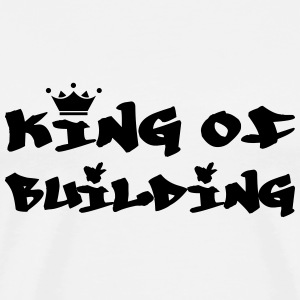 King of Building T-skjorter - Premium T-skjorte for menn