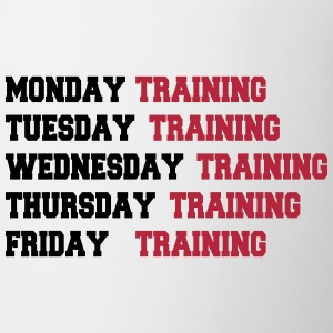 Training week Mugs & Drinkware - Mug