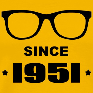 Geek since 1951 - Mannen Premium T-shirt